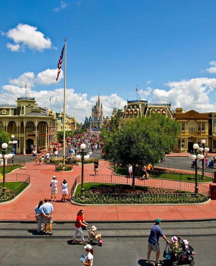 De Wereld van Disney van Walt stock foto