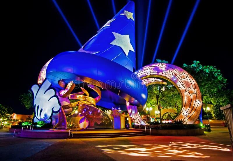 De Wereld van Walt Disney van de Studio's van Hollywood van Disney stock foto