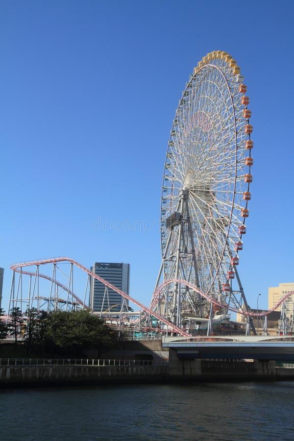 De wereld van Yokohamacosmo royalty-vrije stock afbeelding