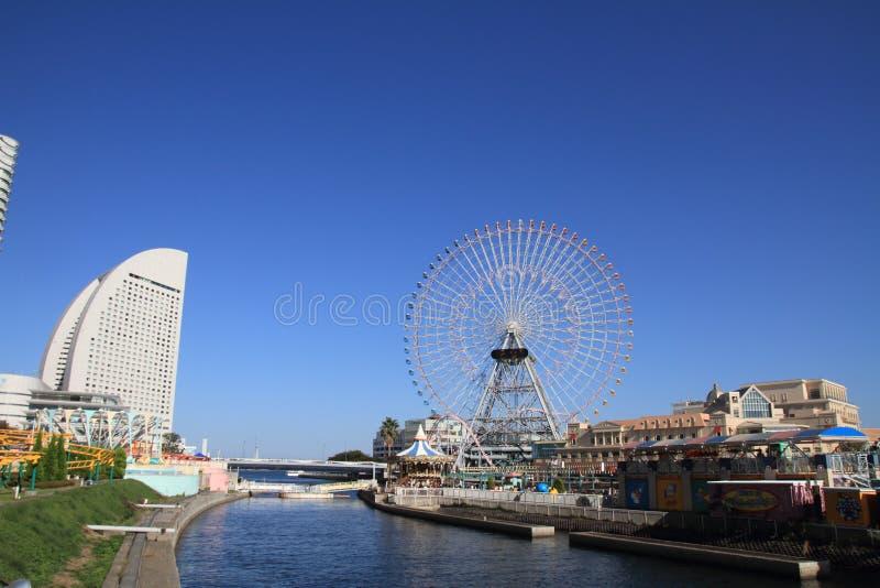 De wereld van Yokohamacosmo royalty-vrije stock afbeeldingen