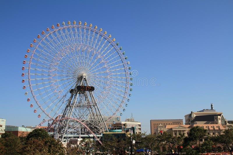 De wereld van Yokohamacosmo stock foto