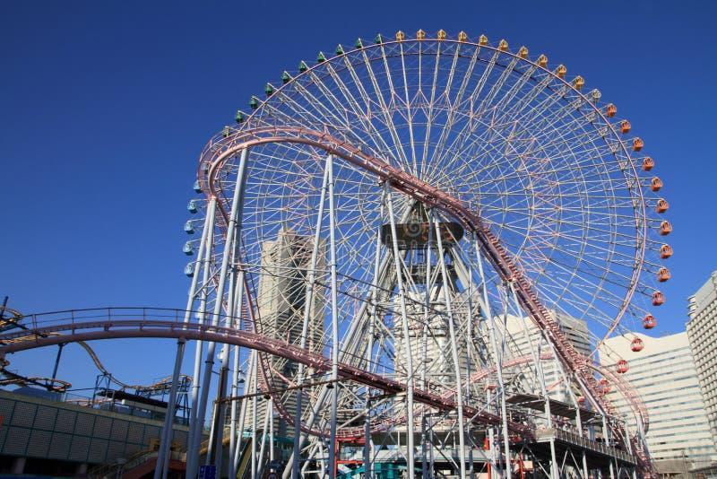 De wereld van Yokohamacosmo royalty-vrije stock foto