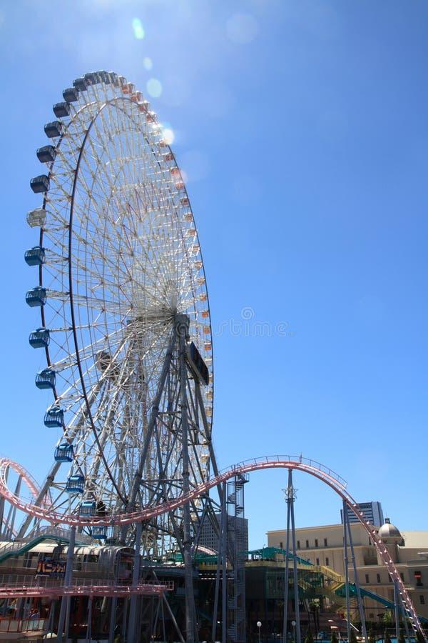 De wereld van Yokohamacosmo stock afbeelding