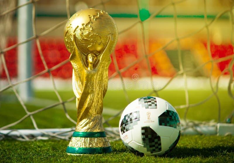De Wereldbeker van FIFA stock afbeeldingen