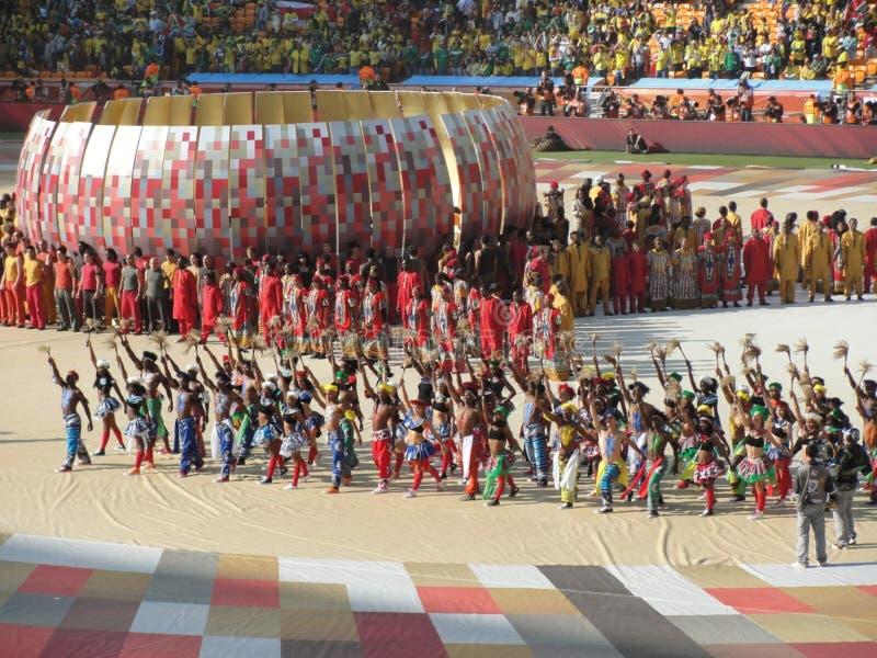 2010 de Wereldbeker van FIFA het Openen stock afbeeldingen