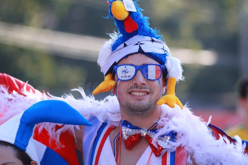 De Wereldbekertoeschouwer van FIFA stock afbeeldingen
