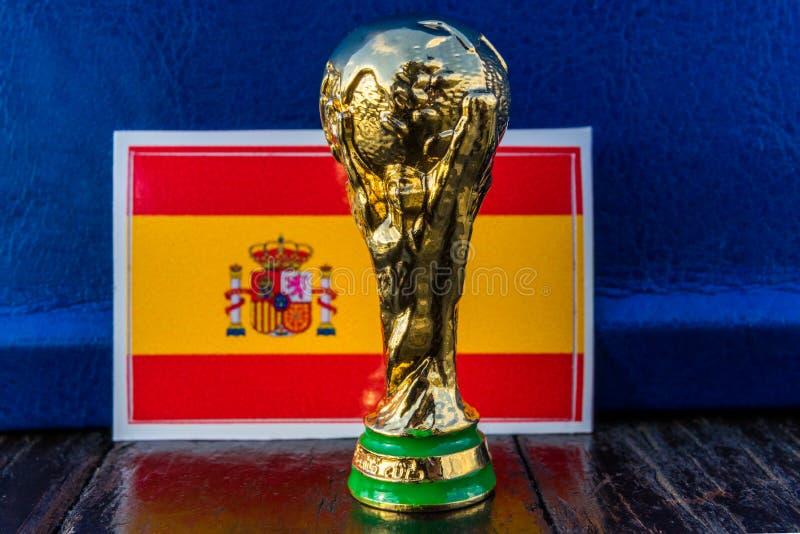 De Wereldbekertrofee van FIFA royalty-vrije stock foto
