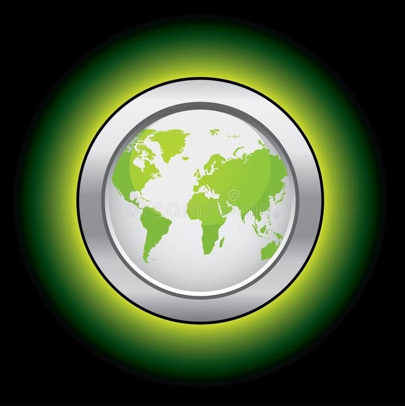 De wereldknoop van de ecologie vector illustratie