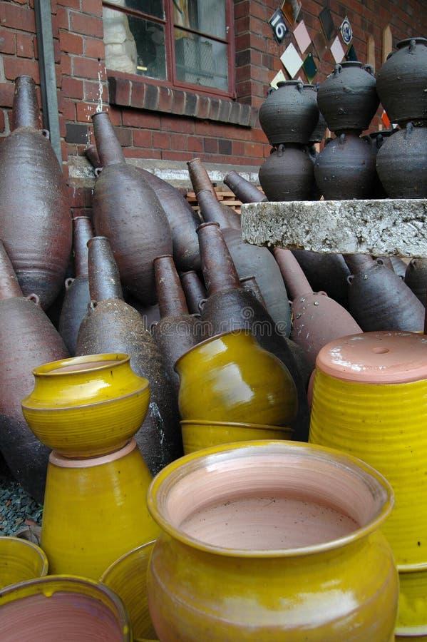 De werf van de pottenbakker royalty-vrije stock fotografie