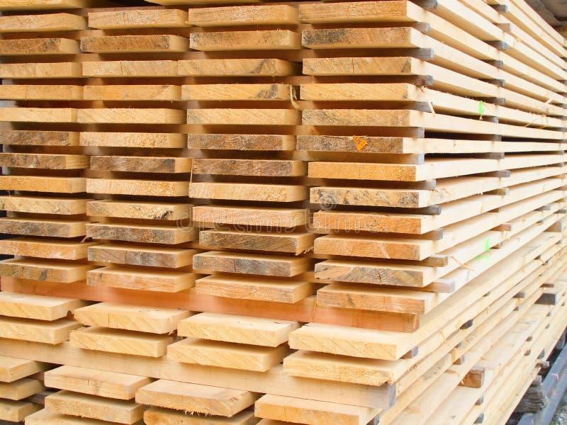 De werf van het timmerhout royalty-vrije stock fotografie