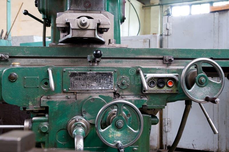 De werkende machine van het metaal royalty-vrije stock afbeeldingen