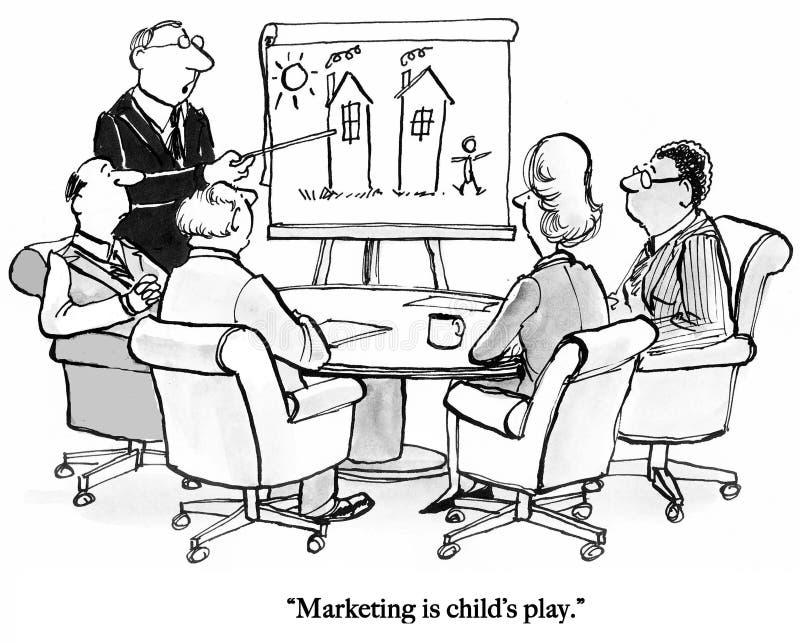 De werkgever respecteert geen marketing vector illustratie