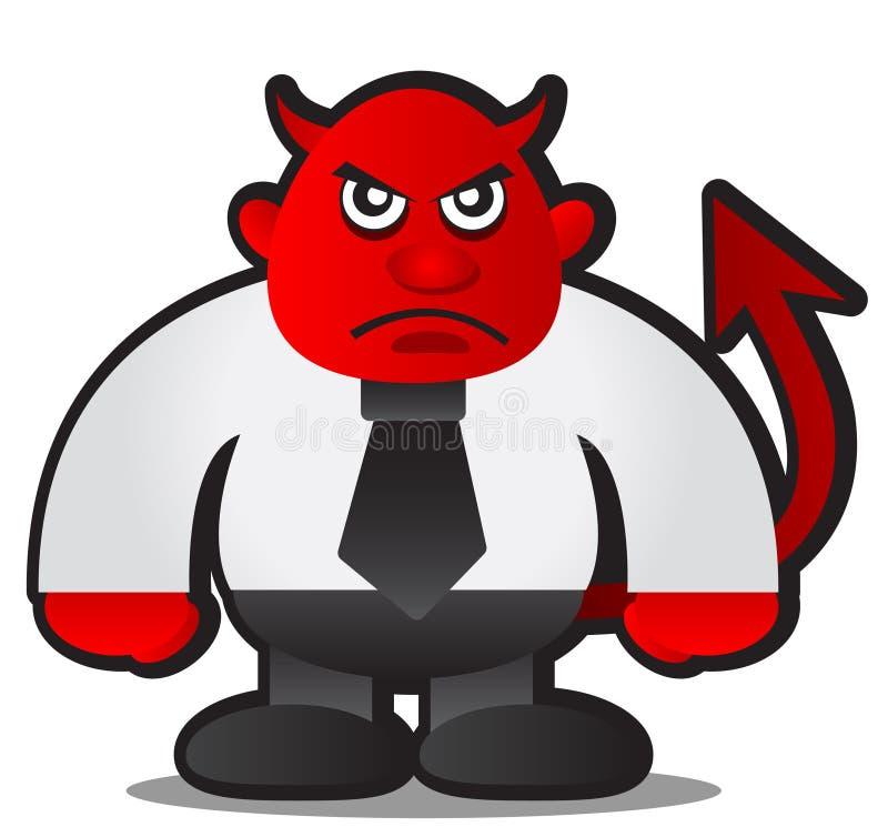 De werkgever van de duivel vector illustratie