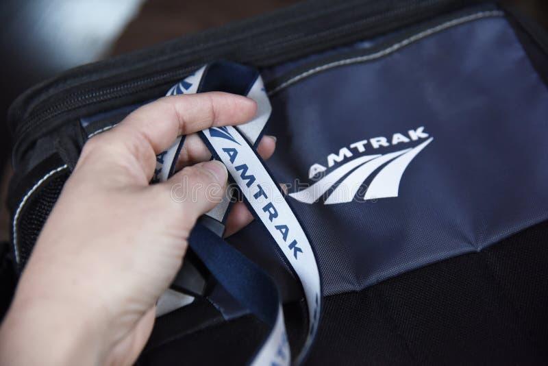 De Werknemers en het Bedrijfproducten van het AmtrakCall centre royalty-vrije stock afbeeldingen