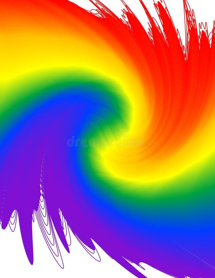De Werveling van de Kleurstof van de band royalty-vrije illustratie
