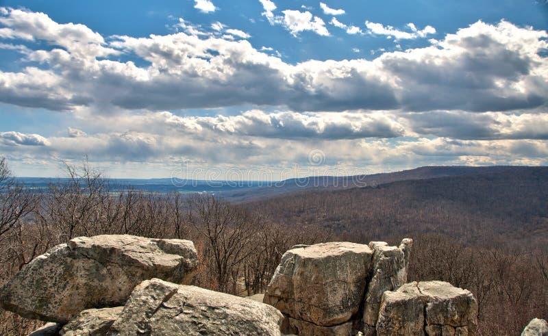 De westelijke Berg van Maryland overziet royalty-vrije stock afbeeldingen