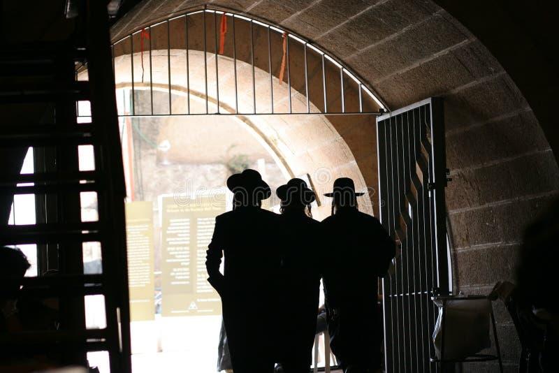 De westelijke Gang van de Muur stock fotografie