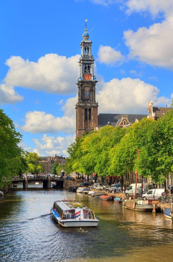 De westelijke reis van het kerkkanaal stock afbeelding