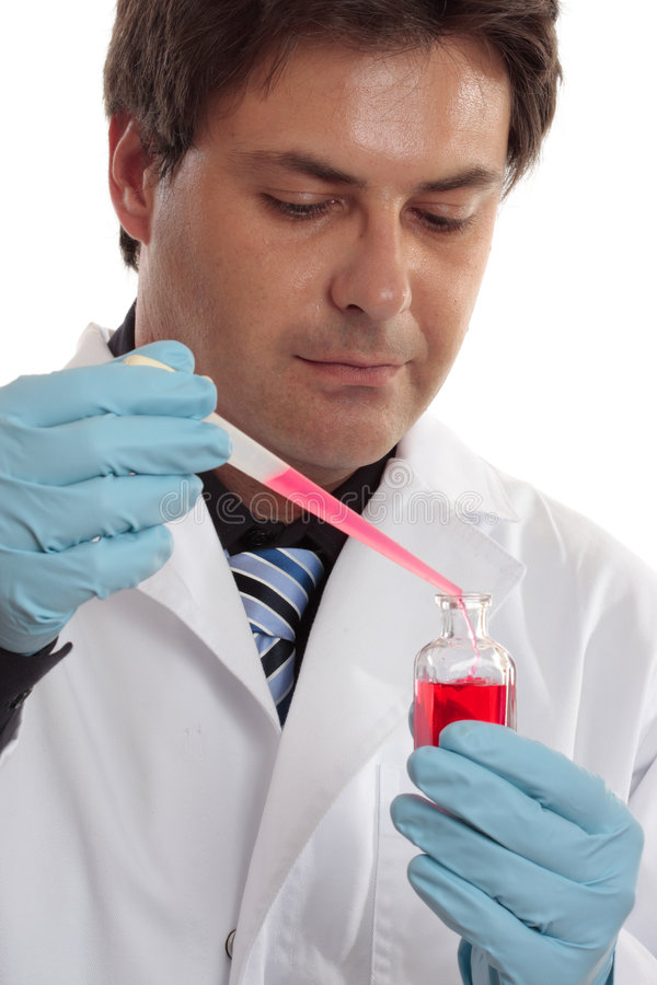 De wetenschappelijke of klinische studies van het laboratorium royalty-vrije stock foto