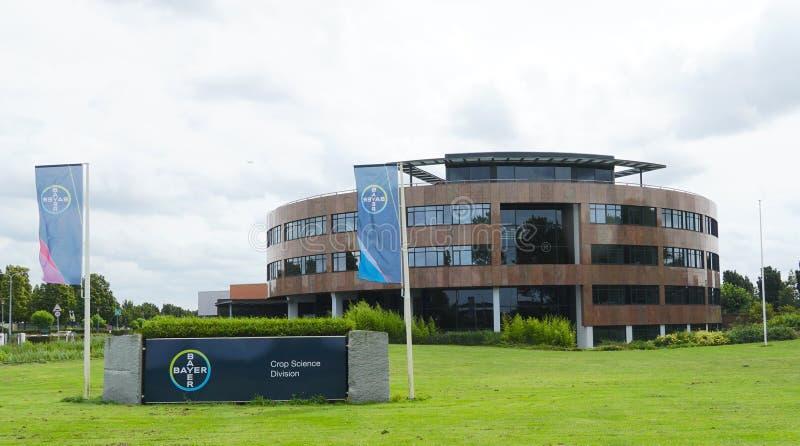 De wetenschapsafdeling van het Bayergewas in Bergschenhoek, Nederland royalty-vrije stock foto