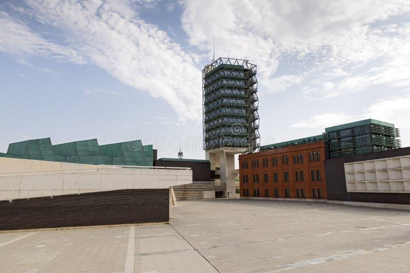 De Wetenschapsmuseum van Valladolid royalty-vrije stock afbeelding