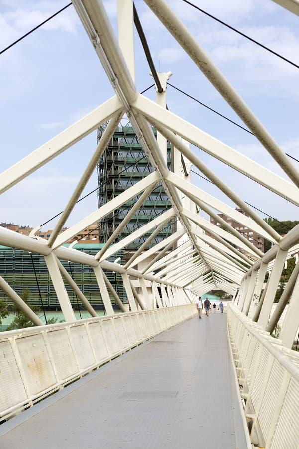 De Wetenschapsmuseum van Valladolid stock foto