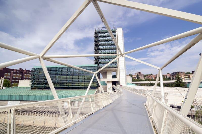 De Wetenschapsmuseum van Valladolid stock afbeelding