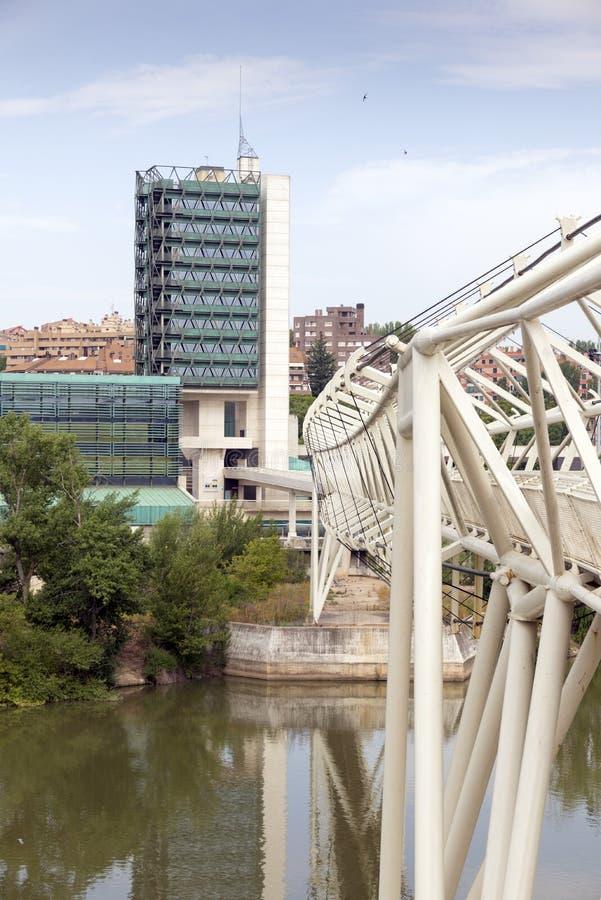 De Wetenschapsmuseum van Valladolid royalty-vrije stock afbeeldingen