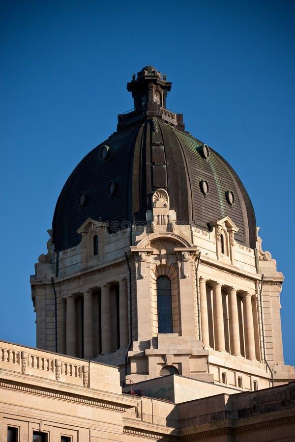 De Wetgevende Bouw van Saskatchewan stock afbeeldingen