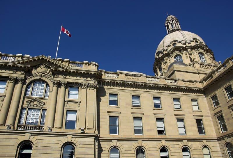 De Wetgevende macht van Alberta royalty-vrije stock afbeelding