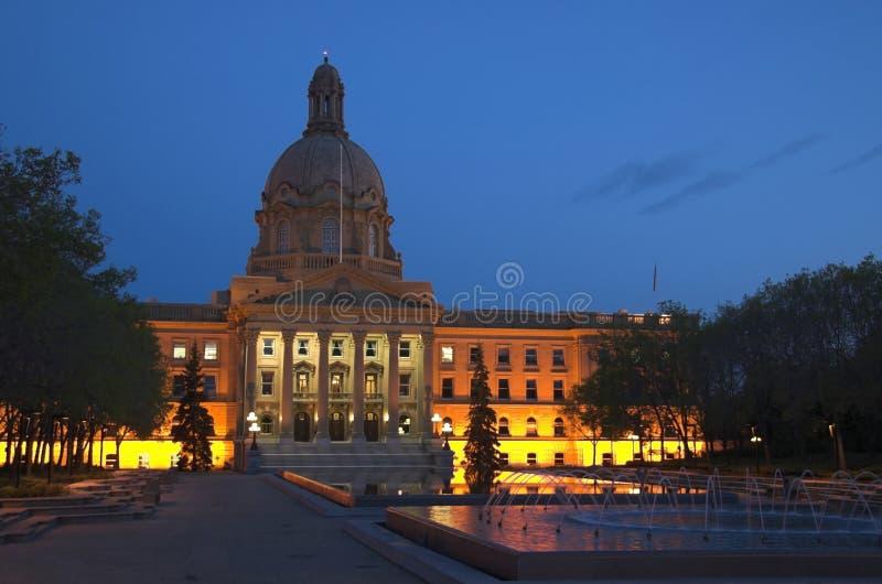 De Wetgevende macht van Alberta stock fotografie