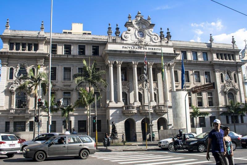 De wetsschool van San Francisco royalty-vrije stock afbeelding