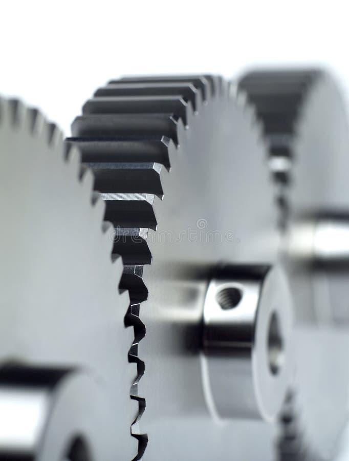 De wielen van de industrie stock foto