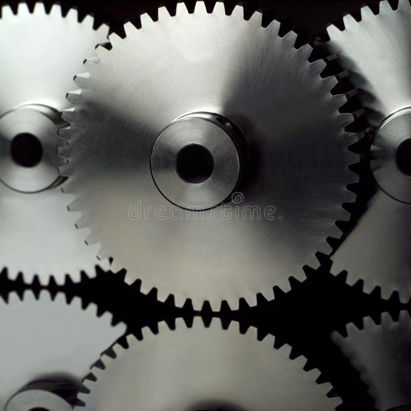 De wielen van de industrie stock afbeeldingen
