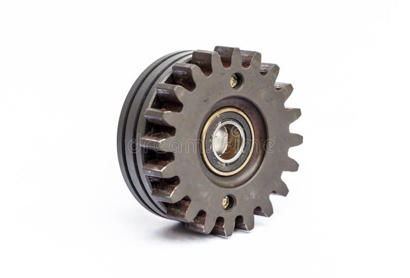 De wielen van het radertjetoestel stock afbeeldingen