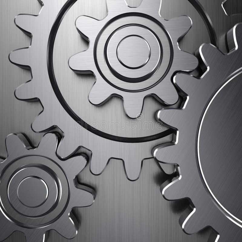 De wielen van het toestel vector illustratie
