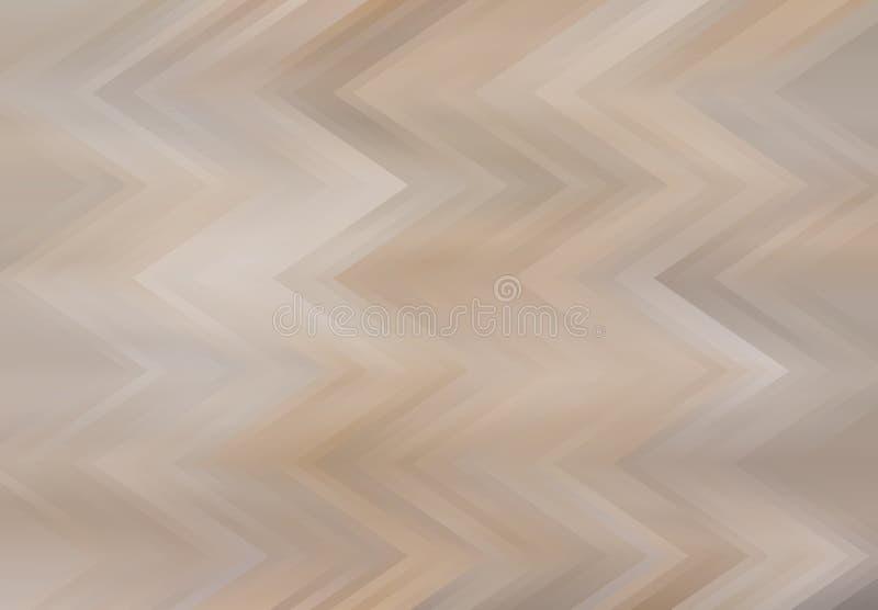Wigvormige beige gamma'sachtergrond royalty-vrije stock afbeeldingen