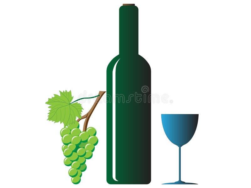 De wijn royalty-vrije stock afbeelding