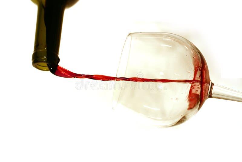 De wijn giet 1 royalty-vrije stock afbeelding