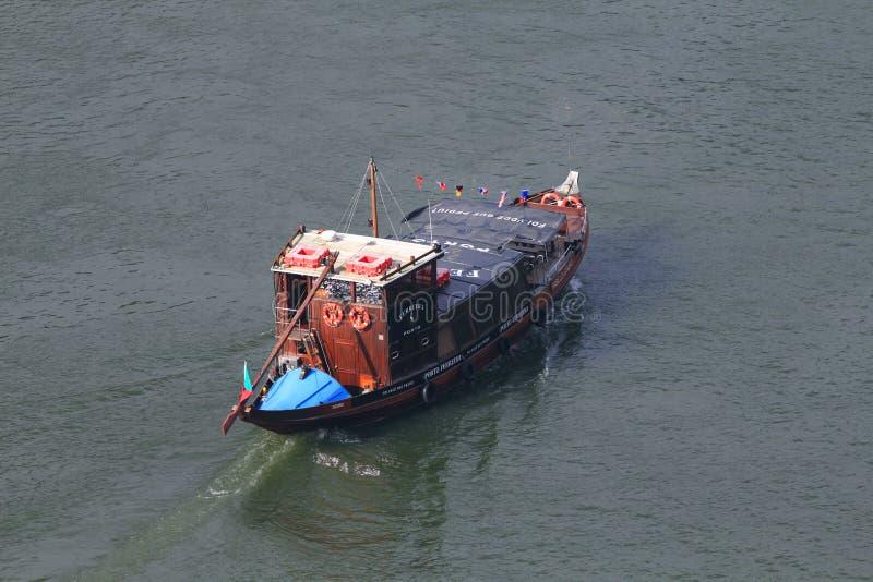 De wijn Toeristische boot van de haven royalty-vrije stock afbeelding
