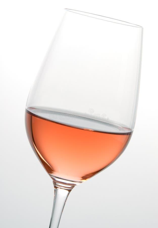 De Wijn van de rosé stock afbeeldingen