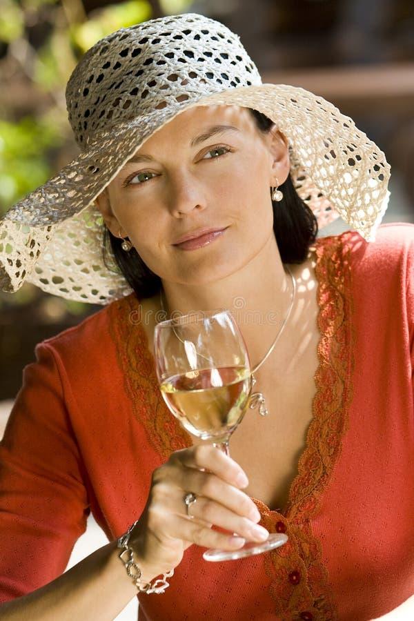 De Wijn van de zomer stock foto's