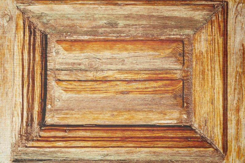 De wijnoogst bevlekte houten stock afbeelding