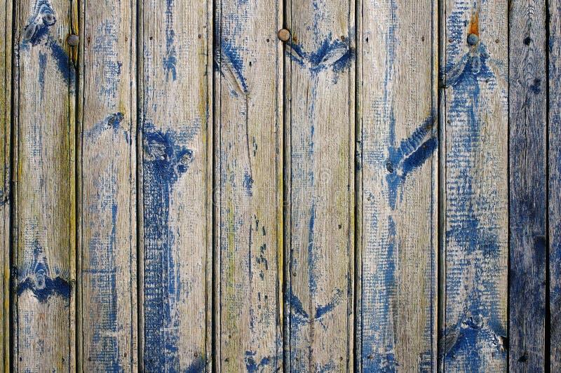 De wijnoogst bevlekte houten muurtextuur als achtergrond royalty-vrije stock foto's