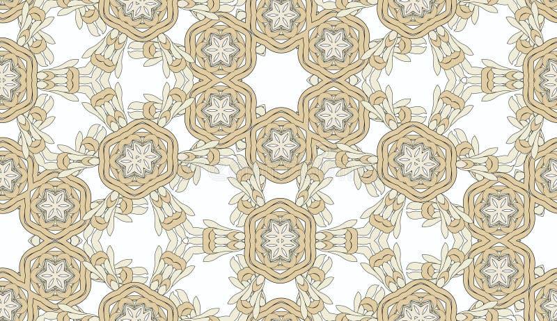 De wijnoogst kleurde bloemen decoratief vector illustratie