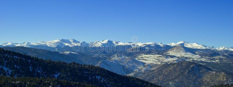 De wildernis van Colorado royalty-vrije stock afbeelding