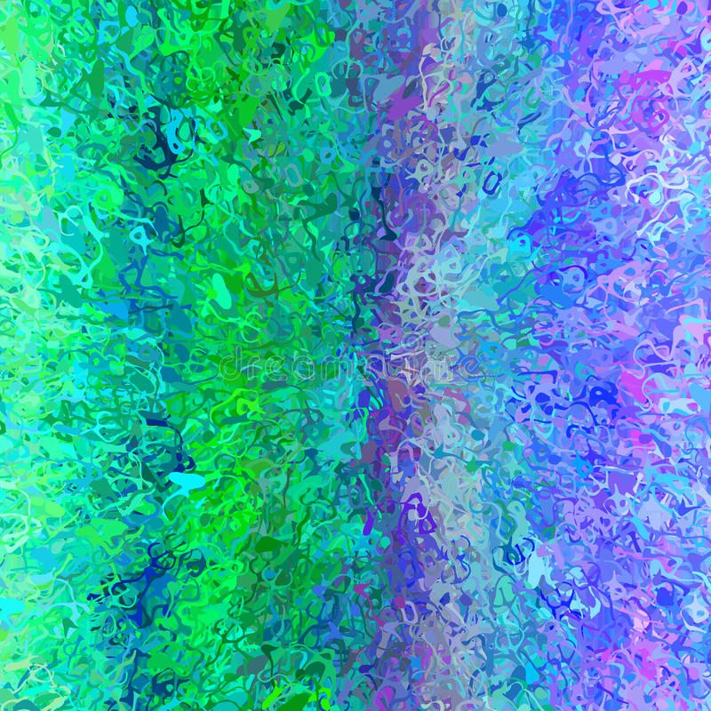 De willekeurige verf ploetert effect achtergrondtextuur met blauwgroen vector illustratie