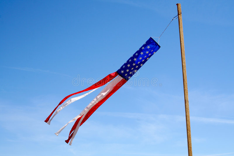 In de Wind stock foto