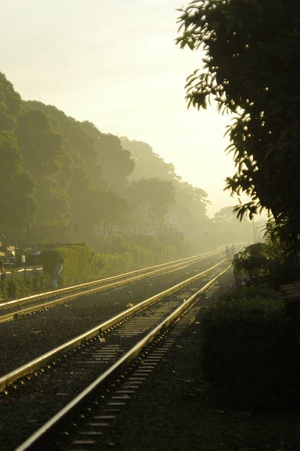 De Wind van de spoorweg royalty-vrije stock fotografie