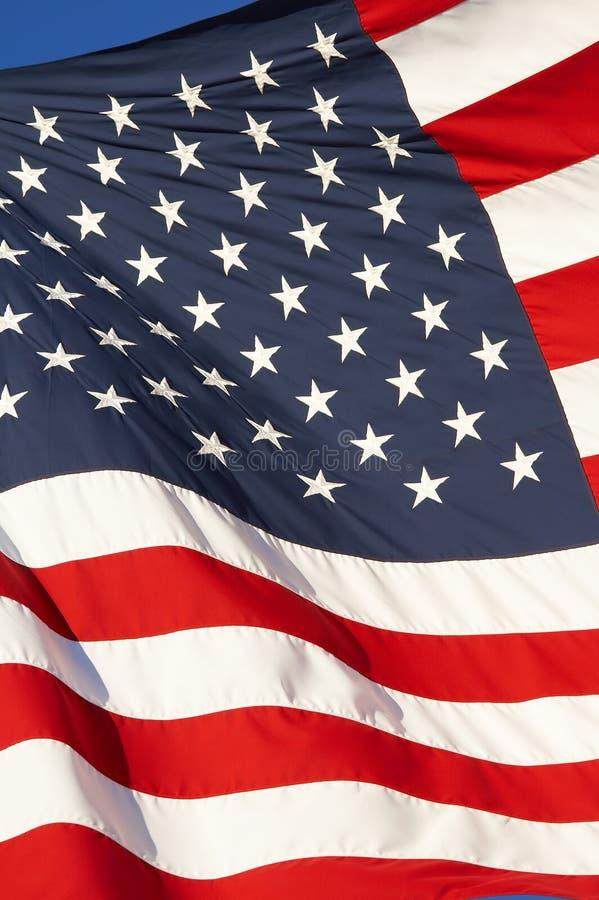 De wind van de vlag royalty-vrije stock afbeeldingen